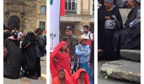 Los Wayuu se tomaron la Plaza de Bolívar