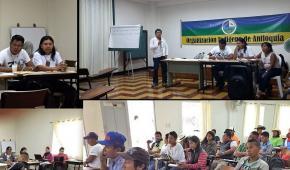 Indígenas de Antioquia niegan tener  excelentes relaciones con gobernador  Luis Pérez Gutiérrez
