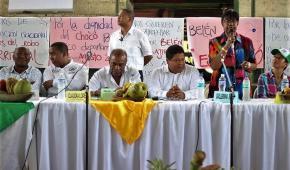 """""""Si nos quitan a Belén de Bajirá, quien pierde es el departamento del Chocó"""": Luis Evelis Andrade"""