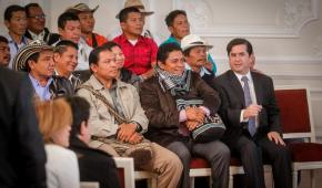 Gobierno firma Decretos Autonómicos, para los pueblos indígenas