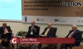Expresidente de Bolivia, explica cómo podría funcionar un modelo de autonomía de pueblos originarios en Perú