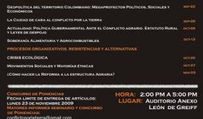 Seminario: El conflicto por la tierra