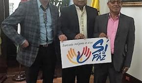 Congresistas Indígenas comprometidos con la Paz
