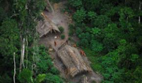 Indígenas aislados al borde de la desaparición