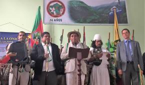 Los Pueblos Indígenas reiteran su compromiso con la Vida y el SÍ a la Paz