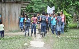 Indígenas denuncian agresión contra la Minga en el Valle del Cauca