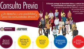 1300 comunidades étnicas están trabajando en procesos de consulta previa