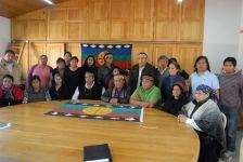 Mapuche anuncian que cerrarán el paso a la petrolera norteamericana Chevron