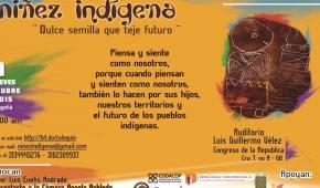 Coloquio sobre niñez indígena en el Senado