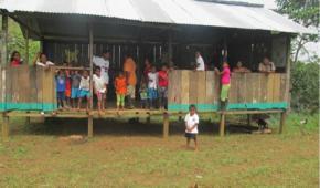 Colombia: FFAA fumigan escuela del Pueblo Awá