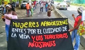 Comunidades Negras del Norte del Cauca se movilizan por la Vida y el Territorio