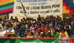 Declaración de Mama Quta Titikaka cierra la IV Cumbre de los Pueblos