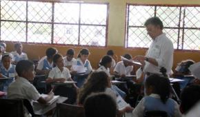 Santos el profesor de Matemáticas