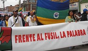 Los indígenas de Antioquia celebramos que los fusiles sean silenciados y esperamos la no repetición