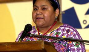 Rigoberta Menchú se perfila como candidata a la presidencia en 2011