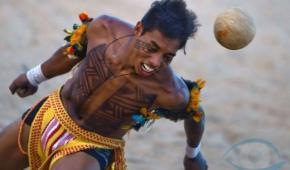 Los indígenas Guaraní, inventaron el futbol en 1639