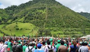 En el Territorio ancestral de los kokonokos se instaló el XIV Congreso del CRIC